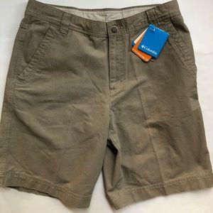 "Columbia Shorts - Dark Khaki - Men's 36"" - NWT"